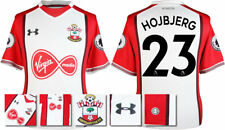 17 / 18- UNDER ARMOUR; SOUTHAMPTON HOME SHIRT SS + PATCHES / HOJBJERG 23 =ADULTS