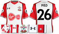 17 / 18- UNDER ARMOUR; SOUTHAMPTON HOME SHIRT SS + PATCHES / PIED 26 = ADULTS