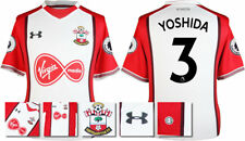 17 / 18- UNDER ARMOUR; SOUTHAMPTON HOME SHIRT SS + PATCHES / YOSHIDA 3 = ADULTS