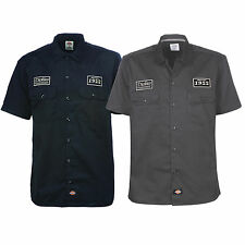 DICKIES - Nord Irwin 05200268 NOIR ANTHRACITE Chemise de travail Loisirs