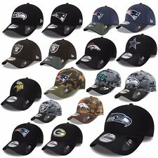 New Era Cap 39THIRTY NFL Black OMBRA Seahawks PATRIOTI Raiders Cowboys UVM