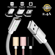 SKITCH 2.4A High Speed Magnetic Android/iOS Adapter Charger Data Sync Cable Cord