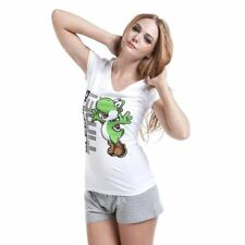 DONNA SUPER MARIO BROS. Yoshi Sacco a pelo Time Shortama Set