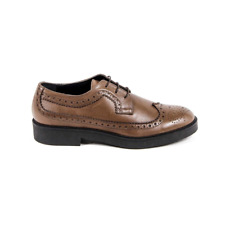 Versace 19.69 B1670 VITELLO BROWN Brogue para mujer marrón ES