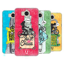 HEAD CASE DESIGNS BICYCLE LOVE HARD BACK CASE FOR HUAWEI Y6 (2017) / NOVA YOUNG