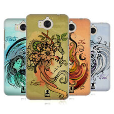 HEAD CASE DESIGNS ELEMENTS HARD BACK CASE FOR HUAWEI Y6 (2017) / NOVA YOUNG