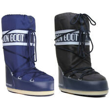Moon Boot Tecnica Moon Boot® Nylon Women Other Fabric Blue Knee High Boots
