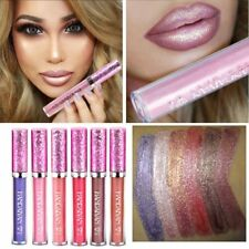 Waterproof Iridescent Glitter Matte Liquid Lipstick Lady Beauty Makeup Lip Gloss