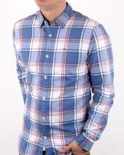 Tommy Hilfiger Check Shirt in Blue, White & Orange - long sleeve