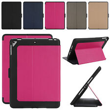 """Kids Shockproof Case Heavy Duty Leather Smart Cover for Apple New iPad 9.7"""" 2017"""