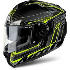 AIROH ST701 ST7SF31 CASCO INTEGRALE SAFETY FULL CARBON YELLOW VARIE TAGLIE