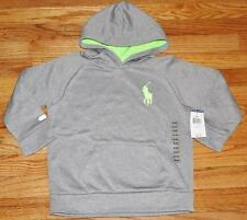 NEW NWT Boys Polo Ralph Lauren BIG PONY Pullover Hoodie Hooded Sweatshirt *C3