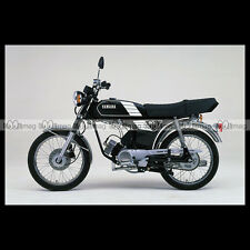 #phm.36701 Photo YAMAHA FS-1 DX FIZZY (FS1 50 DX) 1980 CLASSIC MOPED Moto