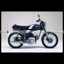 #phm.36708 Photo YAMAHA FS-1 DX FIZZY (FS1 50 DX) 1980 CLASSIC MOPED Moto