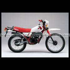 #phm.41702 Photo YAMAHA DT 50 MX (DTMX) 1985 Moto Motorcycle