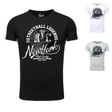 Basketball Hommes Tee-shirt goodflow Muscle Coupe à manches courtes col rond NYC