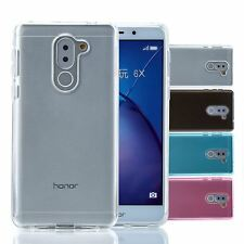 32nd Clear Gel Series - Transparent TPU Silicone Case Cover For Huawei Honor 6X