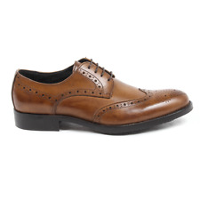 Versace 19.69 914 VITELLO COGNAC Brogue uomo Cammello IT