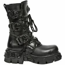 New Rock Oxido M 391 Gothic Black Womens - Mens Boots