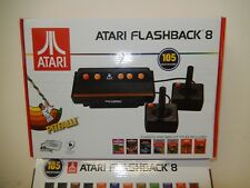 Atari Flashback 8 Game Console 2017 Retro 105 Built in Games w/ 2 Contro $70