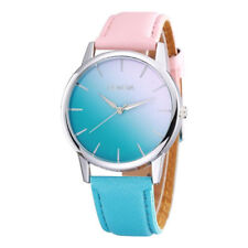 Geneva Pink to Blue Colour Fading Womens Watch Ladies Wristwatch Gift UK Seller