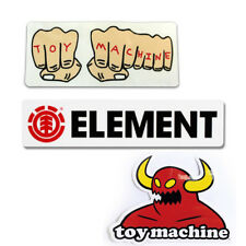 Element/ Toy Machine Adhesivo de skateboard - VARIOS logo skate adhesivos