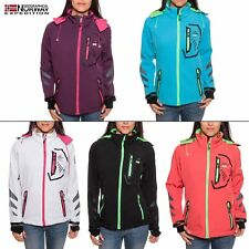 Geographical Norway Thea mujer chaqueta Softshell para mujer de tacto suave