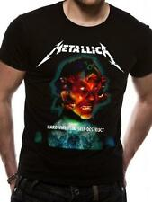 Metallica T Shirt Hardwired to Self Destruct Official Black Mens Tee Metal Rock