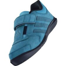 Adidas KatNat 2 AC Infants Kids Velcro Suede Blue Casual Trainers Shoes UK 3K
