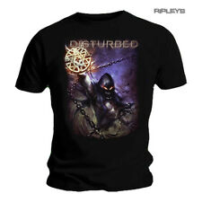 Official T Shirt DISTURBED Immortalized 'Vortex Colours' Logo All Sizes