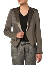 NUEVO drykorn blazer mujer 111223 Barón / 0802 GRIS OSCURO GRIS OSCURO WOMEN