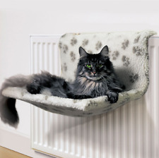 cat kitten pet warm soft fleece  fy radiator lounger cradle hammock basket bed 372198391009 1 jpg  rh   ebay ie