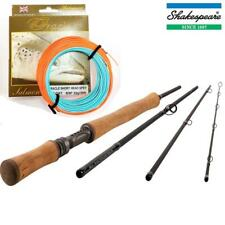SHAKESPEARE ORACLE SWITCH 11Ft  , #7/8 0r #8/9 FLY ROD AND MATCHING SWITCH LINE