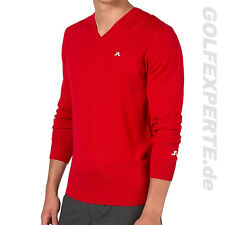 J.Lindeberg GOLF hommes merino-strickpullover Men's LYMANN Tour Rouge Intense