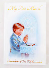 My First Missal Book For Boys Remembrance Of 1st Holy Communion Prayer Book Gift