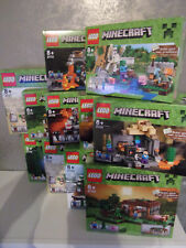 Lego Minecraft - Set's for Selection - Nip