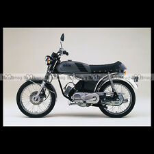 #phm.36752 Photo YAMAHA FS-1 DX FIZZY (FS1 50 DX) 1980 CLASSIC MOPED Moto