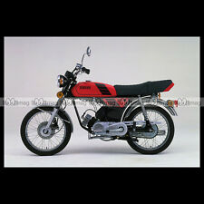 #phm.36775 Photo YAMAHA FS-1 DX FIZZY (FS1 50 DX) 1980 CLASSIC MOPED Moto