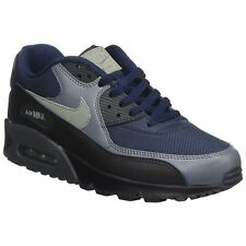 Nike Air Max 90 Essential Obsidian Dark Stucco Mens Mesh Athletic Trainers