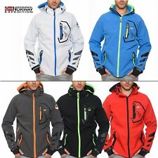 Geographical Norway tresil uomo Softshell Giacca Impermeabile S-XXL