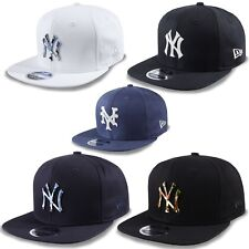 New Era 9fifty GORRA SNAPBACK MLB Team York Yankees Camuflaje metal Mets