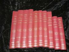 RAILWAY MAGAZINE ILLUSTRATED Publisher Bound Full Year Volumes 1980s MINT UNREAD