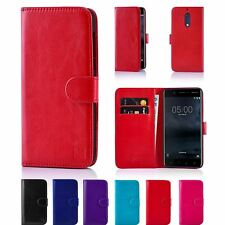 32nd Book Series – Synthetic PU Leather Flip Wallet Case Cover - Nokia 5 (2017)