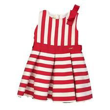 LIU JO Vestito Bambina K18037 T5082 White red Abito Primavera/Estate