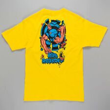 Santa Cruz Rob 3 T-Shirt Yellow skateboard