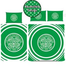 Celtic FC PULSADOR Juego Funda Edredón Reversible Football Club - Individual &
