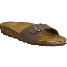 Birkenstock Madrid Brown Synthetic Womens Sandals