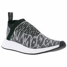 Adidas NMD CS2 Primeknit Grey Core Black Mens Sneakers Boost Technology Trainers