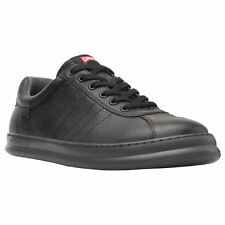 Camper Runner Four Black Offblue Mens Leather Casual Low-Top Sneakers Trainers