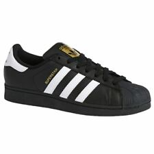 Adidas Superstar Foundation Core Black Footwear White Mens Leather Trainers